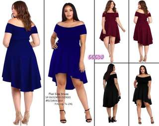 PLUS SIZE DRESS  Fits Up To 2XL  Price : 390