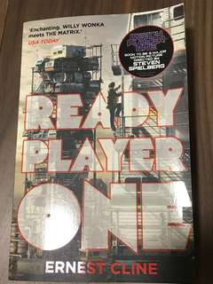 READY PLAYER ONE BRAND NEW BOOK
