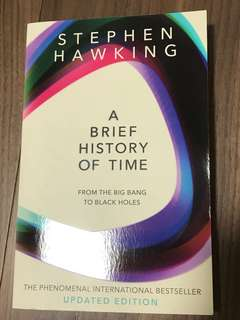 Stephen Hawkins: A Brief History of Time BRAND NEW BOOK