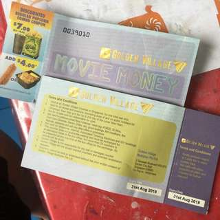 2 GV Movie Vouchers