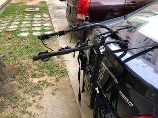 Bicycle mount for cars