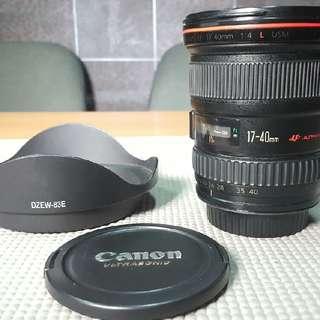 Canon 17-40mm 4L