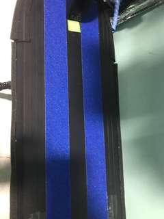 Blue grip tape