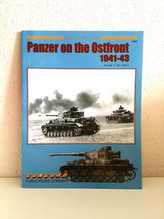 Panzer on the Ostfront 1941-1943 (Armor at War Series) by Frank V. De Sisto, 72 pages, Concord Publication  (World War 2 History Reference Non-Fiction)