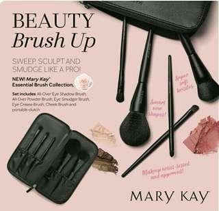 Mary Kay Make Up Brush Set