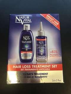 Natur Vital hair loss treatment set