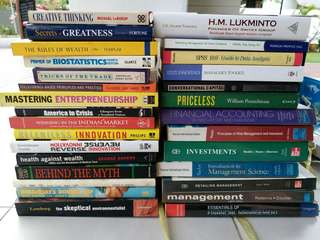 Business Investment Wealth Books