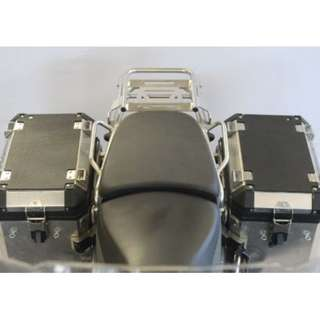 Techspec BMW R 1200 GS ADVENTURE (2014 - CURRENT) PANNIER COVERS LEFT AND RIGHT AND REAR BOX SNAKESKIN