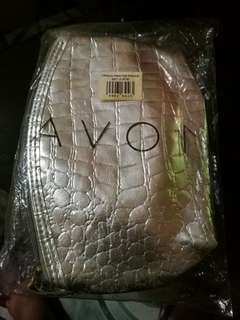 PROMO!! AVON: 2-pc Croco Printed Pouch