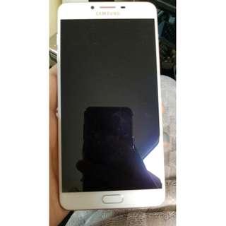 Samsung 三星 C9 pro 64g 6吋 粉紅 港行98%新,有一點少花 有單,冇盒.冇配件