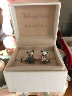 Pandora Disney charms pair