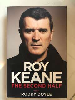 "Roy Keane ""the second half"" Novel"