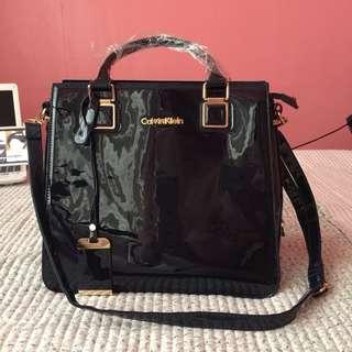 •brandnew• Calvin Klein (REPLICA) Dark Blue Handbag with Sling