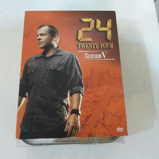 DVD電影 TWENTY FOUR SEASON V