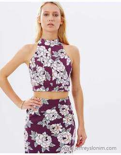 New Talulah Lust Floral Crop Top