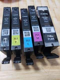 Canon inks CLI-751