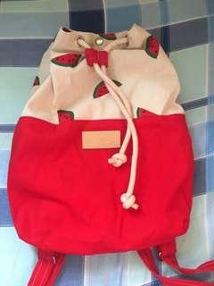 西瓜索袋背包