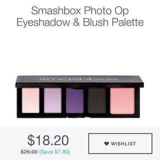 Smashbox Eyeshadow & Blush Palette