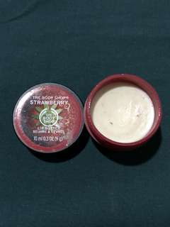 The Body Shop Lip Butter Strawberry Flavor