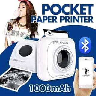 pocket paper print