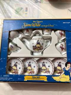 Disney SnowWhite Tea Set