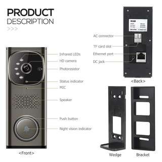 Video recording Door Bell