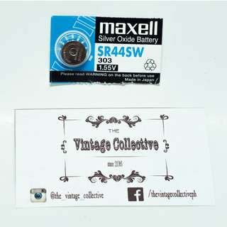 Maxell SR44SW Silver Oxide Battery