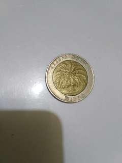 Uang koin 1000 rupiah (tahun 1994)