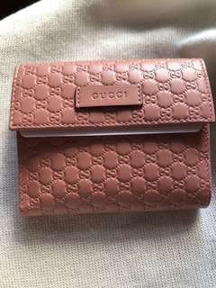 Gucci MicroGuccissima Wallet 100% new