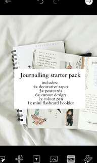 [readystock] Journalling starter pack