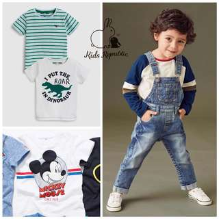 KIDS/ BABY - Tshirt/ Dungaree