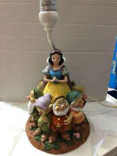 白雪公主陶瓷燈座