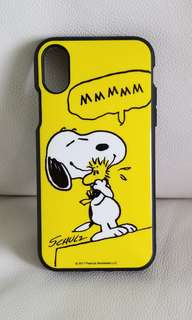 iPhone x case snoopy 95% new