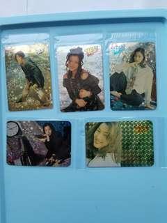 50張 鄭秀文sammi 特別yes卡 閃卡 90年代 歌手 yes card