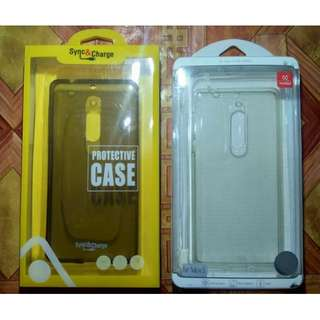 Nokia 5 Slim and Quality Rubber Cases