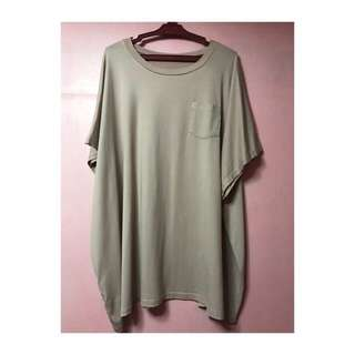 Oversized Top with Pocket