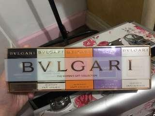 Original Bvlgari Perfume Set
