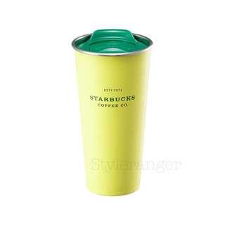 🇰🇷韓國2018 Starbucks綠蓋雙層不鏽鋼隨行杯
