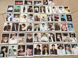 BTS 防彈少年團 Jungkook 果果柾國 Unofficial Photcards 韓國購買