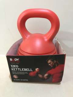 12 KG Kettlebell  Body Sculpture - Brand New !