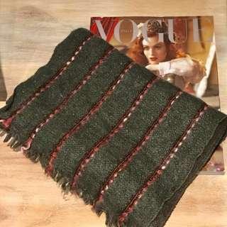 Saldarini Wool Scarf Made In Italy 🇮🇹