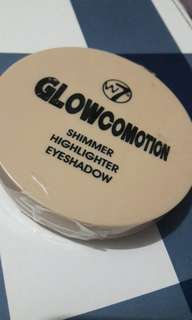 W7 Glowcomotion Shimmer Highlighter Eyeshadoe
