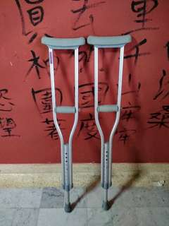 Adjustable Children Crutches