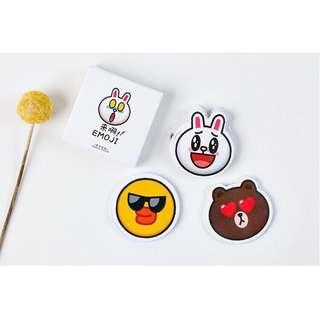☺️BN INSTOCKS Adorable Line Friends Stickers