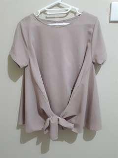 Preloved - peach blouse