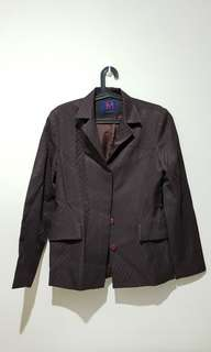 SALE!!! - Women's blazer / coat (Dark Brown)