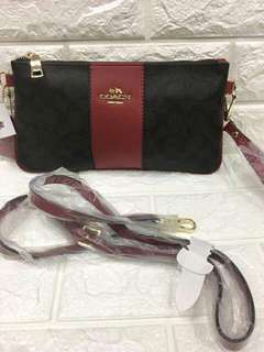 Overrun Coach Wristlet/Sling Bag
