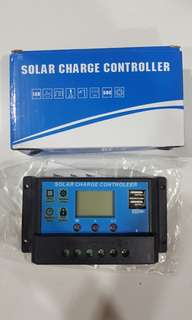 12v 30A solar charge controller