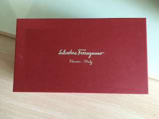 Salvatore Ferragamo Shoe Box 鞋盒