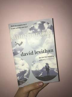 Another Day by David Levithan book